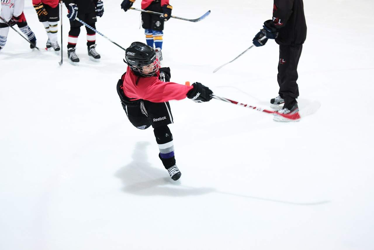 Hockey Practice Shooting