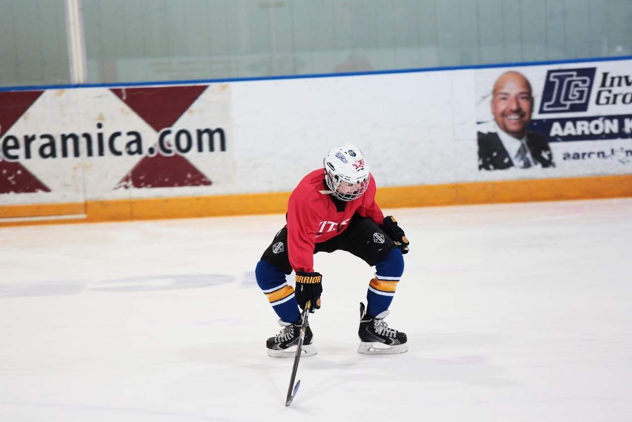 Hockey Practice Creativity