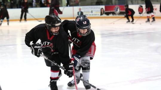 Hockey Practice Aggression