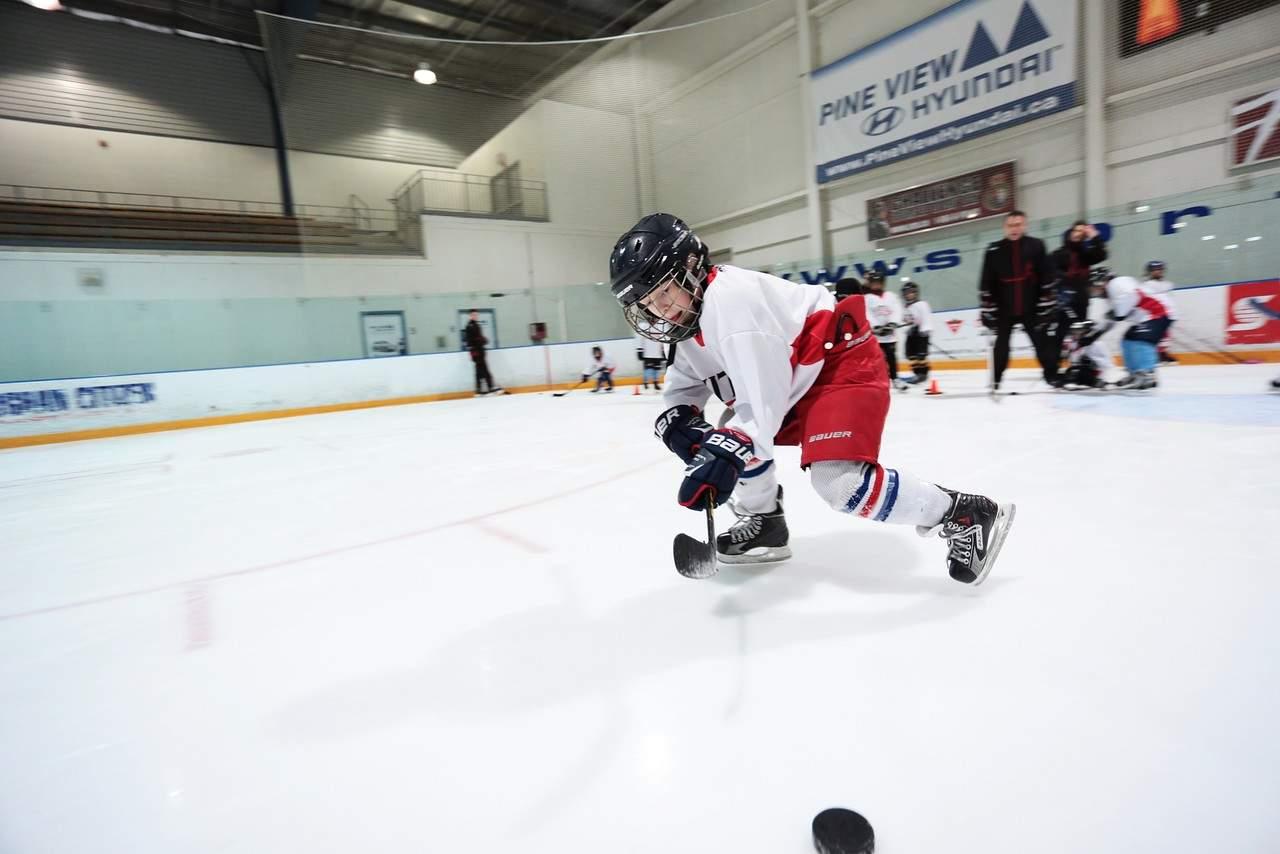 Hockey practice Work Ethic