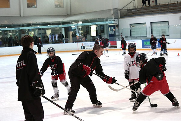 Summer Hockey Camp Toronto at Sports Village in Vaughan.